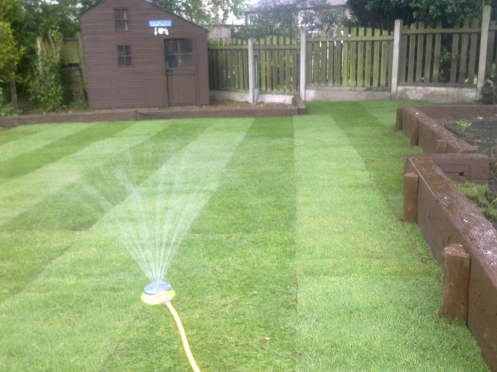 Landscape gardening landscape gardeners groundwork for Gardening contractors